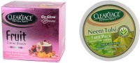 Clear Face Fruit Cream Bleach With Neem Tulsi Face Pack (Enriched With Aloevera) (Set Of 2)