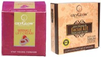 Oxyglow Wrinkle Lift Cream & Anti Blemish Facial Kit (Set Of 2)