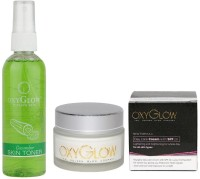 Oxyglow Cucumber Skin Toner & Day Care Cream (Set Of 2)