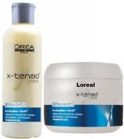 L'Oreal Paris X- Tenso Care Straight Pro Keratin Shampoo And Mask (Set Of)