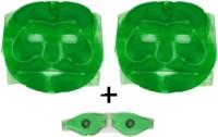 Fashion Deck 2 Aloe Vera Gel Face And 1 Eye Mask (Set Of 3)