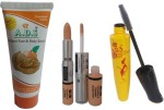 ADS Combos and Kits ADS Walnut face & Body Scrub / Mascara / Foundation & Concealer Double Action