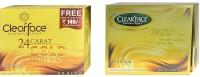 Clear Face 24 Carat Gold Facial Kit With 24 Carat Gold Facial Kit (Set Of 2)