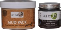 Skinatura MUD PACK & BLACK HEAD ELIMINATING FACIAL SCRUB (Pack Of 2) (Set Of)