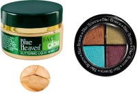 Blue Heaven Face Glow & Eye Magic Eye Shadow 603 Combo (Set Of 2)