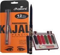 Amura Colour Cosmetics Kajal Eyeshadow Combo (Set Of 2)