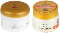 Oxyglow Fruit Massage Cream With Vitamin-E & Apricot & Jojoba Facial Scrub (Set Of 2)