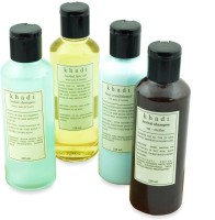 Khadi Natural Anti Graying Solution Kit Of Hair Oil, Shampoo & Conditioner (Set Of 4)