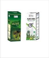 Besure Extra Virgin Olive Oil With Aloe Vera Shampoo (Set Of 2)