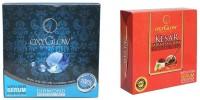 Oxyglow Diamond Facial Kit & Kesar Fairness Glow Facial Kit (Set Of 2)