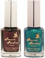 Anna Andre Paris Combos and Kits Anna Andre Paris Nail Polish Leafy Pearl Duo Set