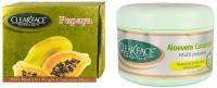 Clear Face Papaya Facial Kit & Aloevera Cucumber Multi Purpose Facial Cream (Set Of 2)