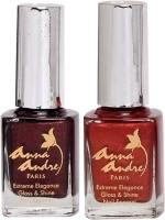 Anna Andre Paris Combos and Kits Anna Andre Paris Nail Polish Shadow Heart Duo Set