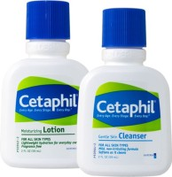 Cetaphil Moisturizing Lotion And Gentle Skin Cleanser (Set Of 2)