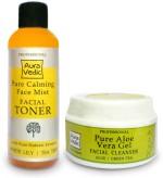 Auravedic Combos and Kits Auravedic Pure Calming Cleanser+Toner
