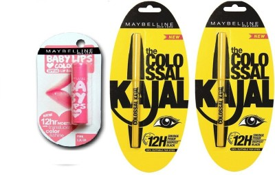 Maybelline Kajal Maybelline Maybelline the Colossal Kajal Offer 0.70 g 0.70 g