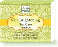 Auravedic Skin Brightening Sun Care Facial Kit (Set Of 5)