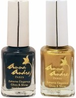 Anna Andre Paris Combos and Kits Anna Andre Paris Nail Polish Mid Night Glow Duo Set