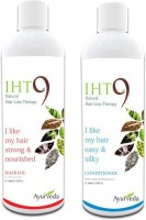 Lass Naturals Iht9 Hair Oil With Iht9 Natural Hair Conditioner (Set Of 2)