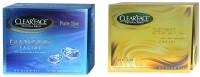 Clear Face Diamond Facial Kit With 24 Carat Gold Facial Kit (Set Of 2)