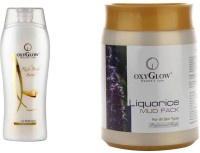 Oxyglow Rich Body Butter & Liquorice Mud Pack (Set Of 2)