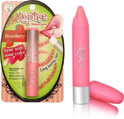 LipIce Makeup Combos LipIce LipIce Sheer Color Strawberry and LipIce Crayon Rose Pink