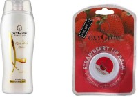 Oxyglow Rich Body Butter & Lip Balm (Set Of 2)