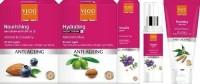 VLCC Vlcc Anti Aging Day Cream Spf-25 50Gm + Anti Aging Night Cream 50Gm + Anti Aging Vitalift Serum- 50 Ml (Freebie) Vlcc Anti Aging Face Wash 100Ml (Set Of 4)