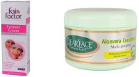 Clear Face Fairness Cream With Multivitamin With Aloevera Cucumber Multi Purpose Facial Cream (Set Of 2)