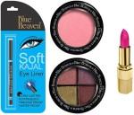 Blue Heaven Combos and Kits Blue Heaven Lipstick , Kajal Liner, Eye Magic Eye Shadow & Diamond Blush On