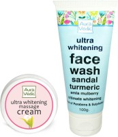 Auravedic Whitening Face Wash & Cream (Set Of 2)