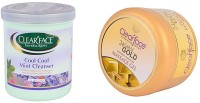 Clear Face Cool Cool Mint Cream With 24 Carat Gold Dust Almond Oil Massage Gel (Set Of 2)