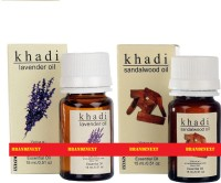 Khadi Essential Oil Combo - 6 (Lavender & Sandal) (Set Of 2)