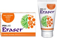 Eraser Anti Acne Soap & Face Wash Combo (Set Of 2)