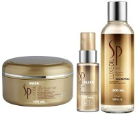Wella Professionals Sp Luxeoil Elixr Serum With Shampoo And Restore Mask (Set Of)