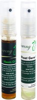 Glowing Buzz Combo Of 1 Neem Tree Essential Oil And 1 WheatGerm Essential Oil (Set Of 2)