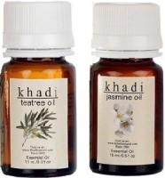 Khadi Natural Essential Oil Combo - 3 (Tea Tree & Jasmine) (Set Of 2)