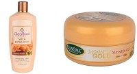 Clear Face Shea Extra Rich Almond Honey With 24 Carat Gold Massage Gel (Set Of 2)