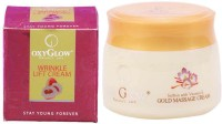Oxyglow Wrinkle Lift Cream & Saffron With Vitamin-E Gold Massage Cream (Set Of 2)