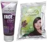 Oxyglow Combo & Kits Oxyglow Bearberry Face Wash & Natural Heena