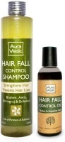 Auravedic Hair Fall Control Treatment Combo List 1 (Set Of 2)
