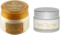 Oxyglow Gold Massage Gel Eco Pack & Day Care Cream (Set Of 2)