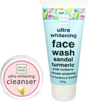 Auravedic Whitening Face Wash & Cleanser (Set Of 2)
