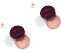 Lakme Rose Powder-Warm, Pink 02( Pack Of 2 ) Compact  - 80 G (Warm Pink)