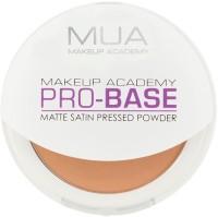 MUA MAKEUP ACADEMY Pro Base Matte Satin Pressed Powder Compact  - 6.5 G (Honey)