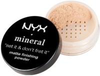 NYX Mineral Matte Finishing Powder Compact  - 8 G (Light)
