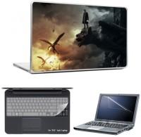 Skin Yard Frankenstein Laptop Skins With Laptop Screen Guard & Laptop Keyguard -15.6 Inch Combo Set