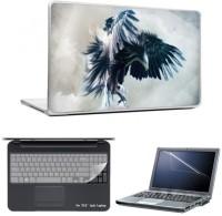 Skin Yard Helicopter Showdown Digital Eagle Laptop Skins With Laptop Screen Guard & Laptop Keyguard -15.6 Inch Combo Set