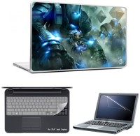 Skin Yard Guild Wars Laptop Skins With Laptop Screen Guard & Laptop Keyguard -15.6 Inch Combo Set
