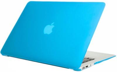 Pindia Apple Aqua Blue Matte Finish Apple Macbook Air 11 11.6 inch Md224Hn/A? & Md224Ll/A? Hard Case Shell Cover Anti Dust Ports Combo Set